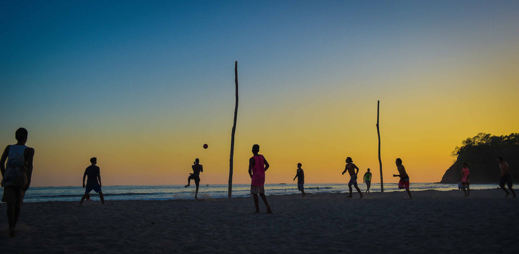 Photograph: Football Beach, Print