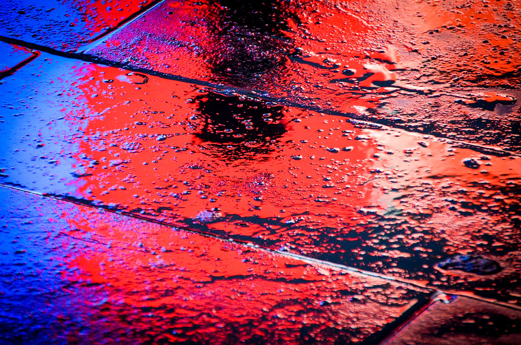 Abstract Photography: Piccadilly Gumshoe by Croz' at 100Prints.co.uk