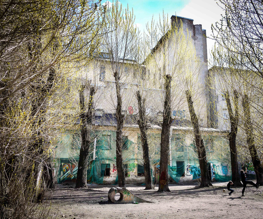 Photograph: Vasilievsky Island by Toni Peach at 100Prints.co.uk