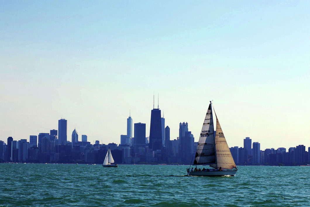 Chicago Summer by Michelle Pretorius