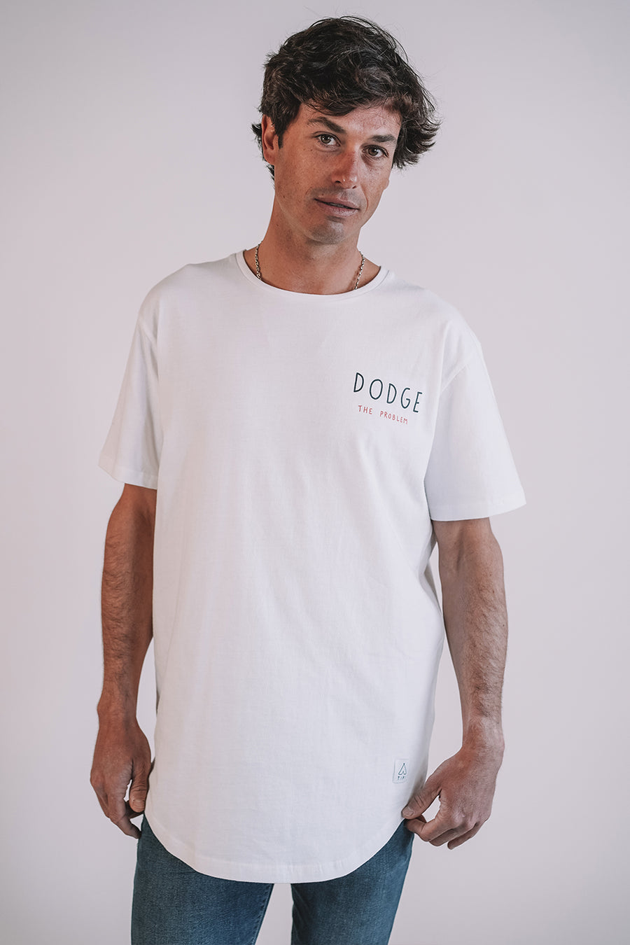 Dodge White T-shirt