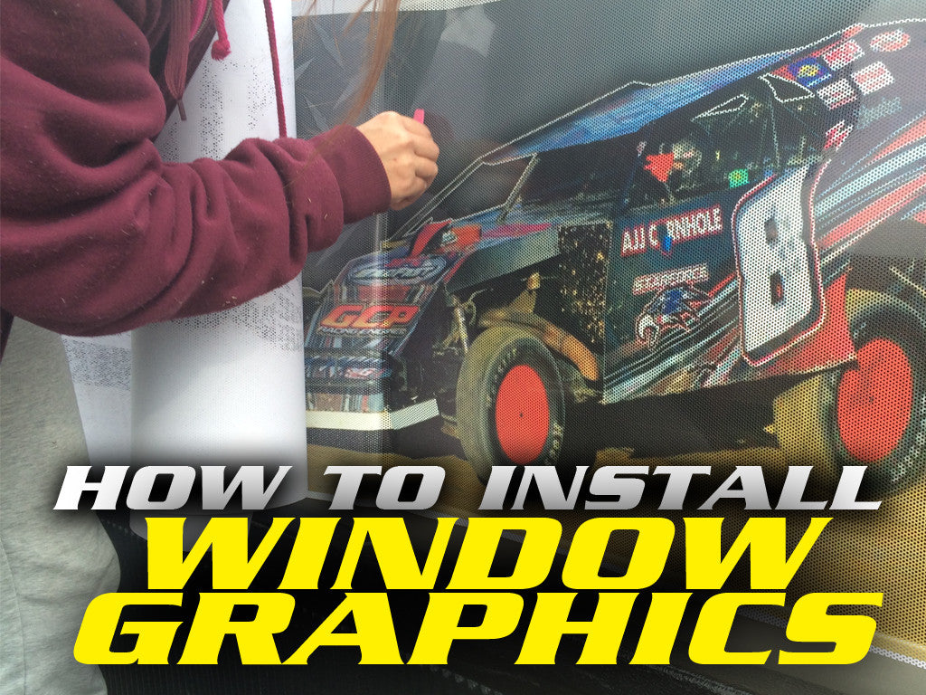 How to install window graphics/wraps