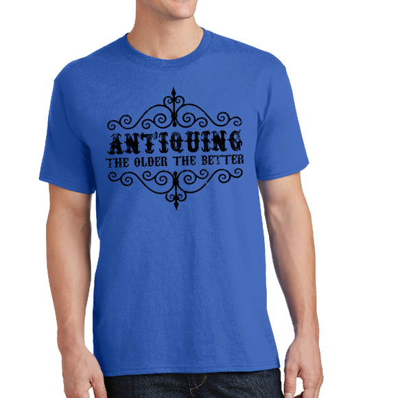 Antiquing - Unisex Antique Shirt - Pick your size and color - River Valley Special Tee's