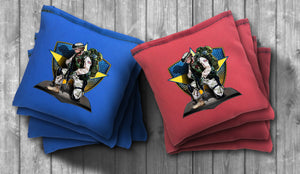 Army Soldier Cornhole Bag Set - Choose your Colors! - River Valley Special Tee's