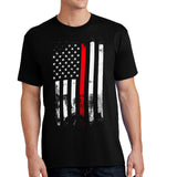 Thin Red Stripe - Fire/EMT Themed Unisex Shirt - River Valley Special Tee's