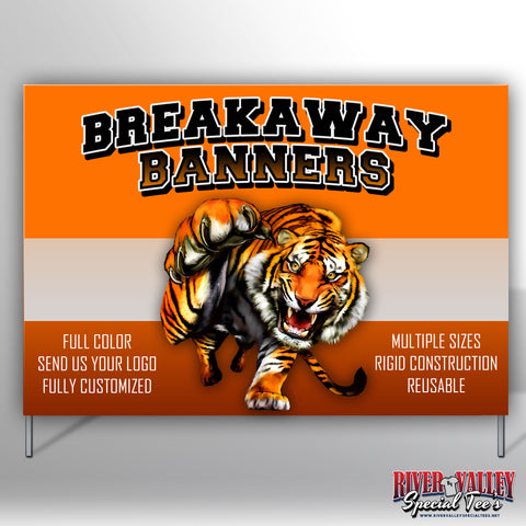 Breakaway Banner - Multiple Sizes - River Valley Special Tee's