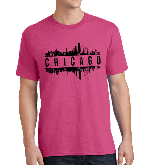 Chicago Skyline - Unisex T-Shirt - Pick your size and color! - River Valley Special Tee's