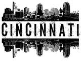 Cincinnati Skyline - Unisex T-Shirt - Pick your size and color! - River Valley Special Tee's