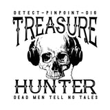 Treasure Hunter Metal Detecting Shirt - Choose your size and color! - River Valley Special Tee's