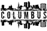 Columbus Skyline Unisex Shirt - Choose your color and size! - River Valley Special Tee's