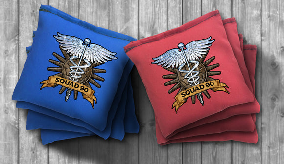 Custom EMT Cornhole Bag Set - Personalized Bags - Choose your Colors! - River Valley Special Tee's