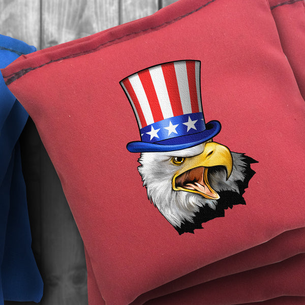 Uncle Sam Eagle Cornhole Bag Set - Choose your Colors!