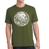 Buffalo Nickel - Antique Coin Unisex Shirt - Pick your color! - River Valley Special Tee's