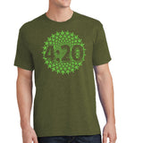 4:20 Spiral - Cannabis Unisex Shirt - Pick your size and color! - River Valley Special Tee's