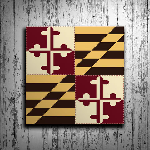 Maryland Flag Barn Quilt - River Valley Special Tee's
