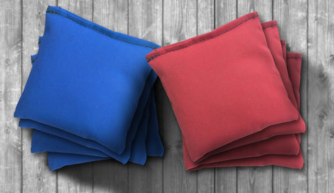 Plain Cornhole Bag Set - Choose your Colors! - River Valley Special Tee's