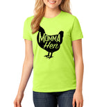 Momma Hen - Unisex Farm Girl Shirt - Choose your color! - River Valley Special Tee's
