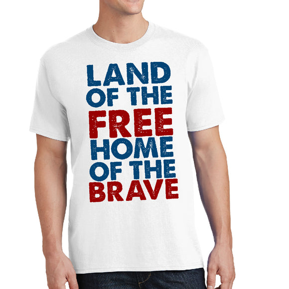 Land of the Free, Home of the Brave - Patriotic Unisex Shirt - River Valley Special Tee's