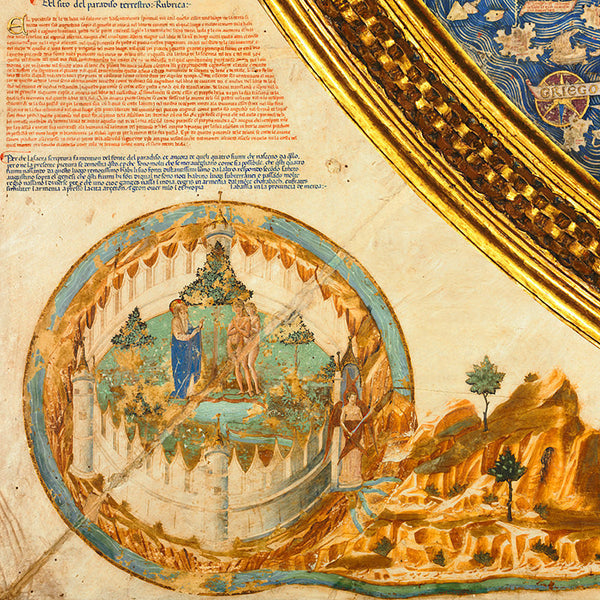 World, 1450, Fra Mauro Map
