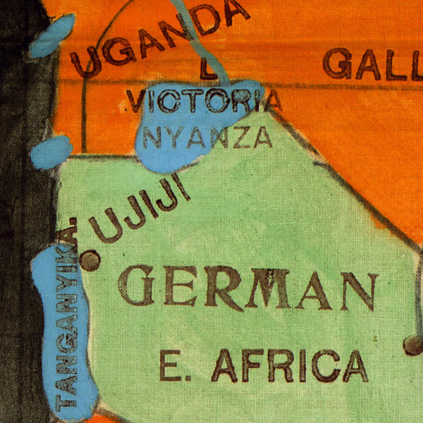 Africa, 1908, Old Colonial Map