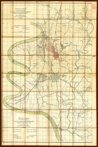 Antietam, 1894, Sharpsburg Battlefield, Hotchkiss, American Civil War Map