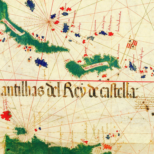 World, 1502, Cantino Planisphere