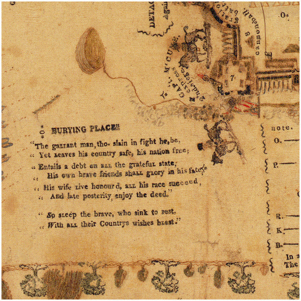Fort Meigs, 1813, Siege & Battle, War of 1812, Antique Map