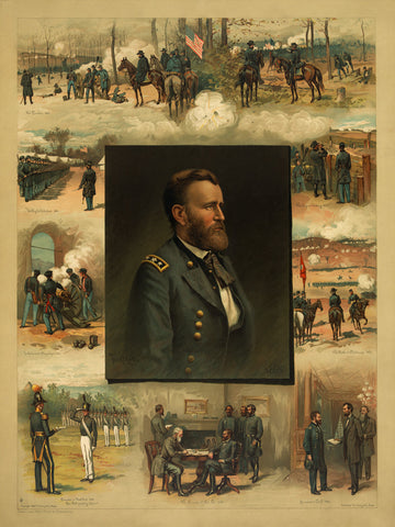 General Ulysses S. Grant, West Point to Appomattox, Portrait & Military Career