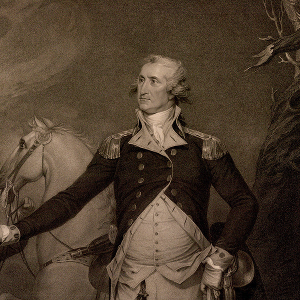General George Washington, Portrait, Fine Art Print
