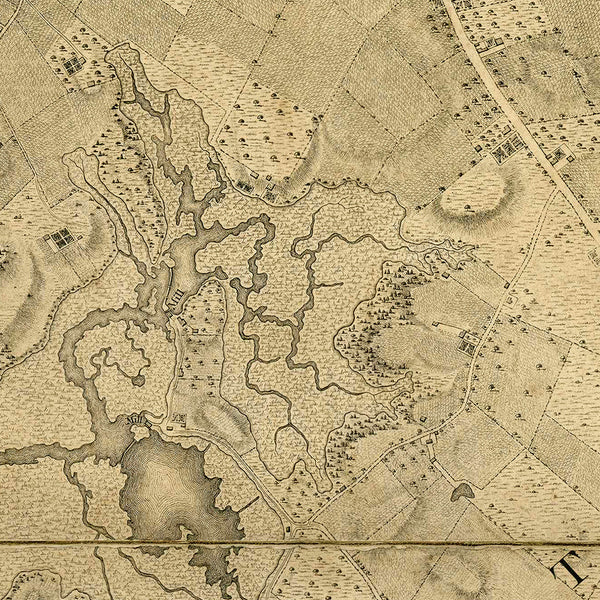 New York, 1776, Ratzer Plan (II), Antique Map