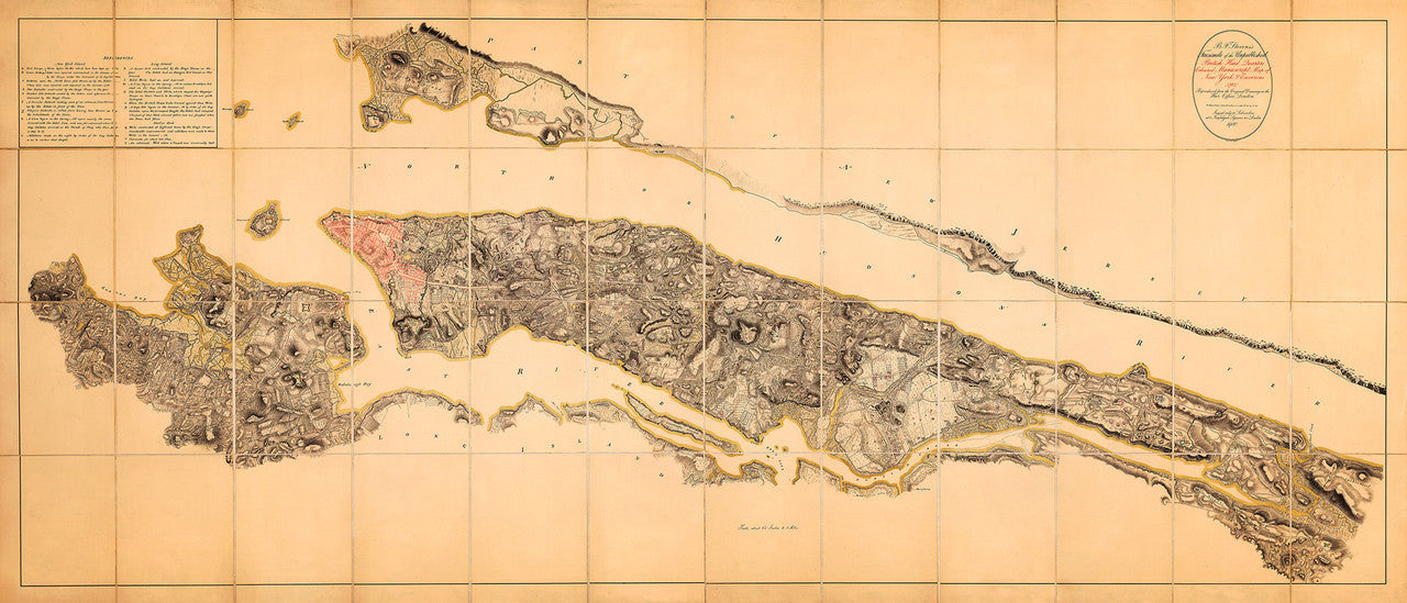 Revolutionary War Map Of New York.New York 1782 Gb War Office Hq Revolutionary War Map Battlemaps Us