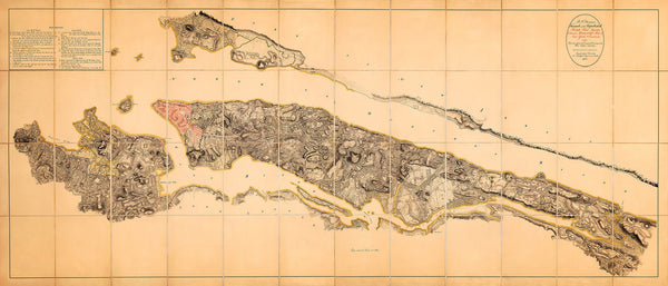 New York, 1782, GB War Office HQ Revolutionary War Map