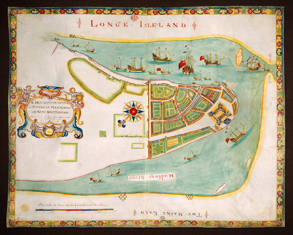 New York, 1664 (1661), Mannados, New Amsterdam, The Duke's Plan