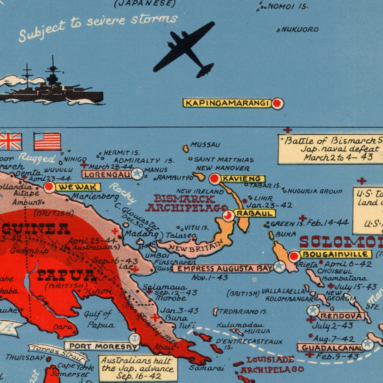 1944 wwii map of the pacific southeast asia battlemaps pacific 1944 asian pacific theater wwii pictorial map publicscrutiny Image collections