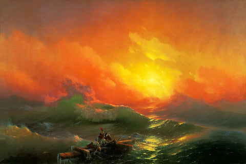 The Ninth Wave, 1850, Aivazovsky, Painting, Fine Art Print