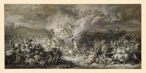Trojan War, Greek Mythology, Iliad, Combat of Diomedes, Fine Art Print