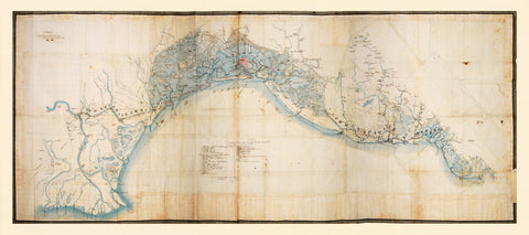 Italy, 1806, Gulf of Venice, Napoleon, Reconnaissance Map