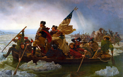 Washington Crossing the Delaware, Fine Art Print