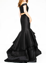 Fearless Black Midnight Gown