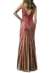 Dynasty Red Gown
