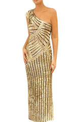 Touch of Gold Gown
