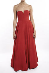 Red Giulia Gown