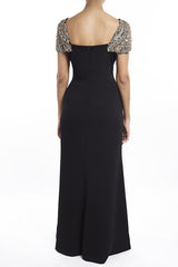 Black Harlow Gown