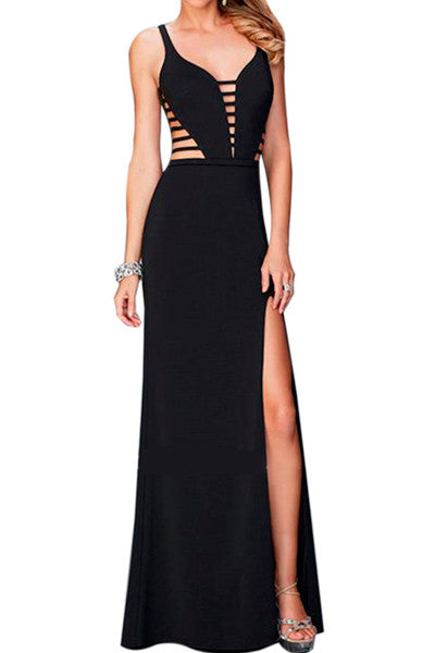 Black Square Gown