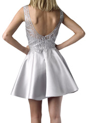 Silver Pearl Dress