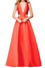 Red Geo Gown