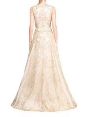 Dusted Lace Gown