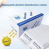 100pcs/lot Alcohol Prep Swap Pad Wet Wipe for Jewelry Mobile Phone Clean Antiseptic Skin Cleaning Care