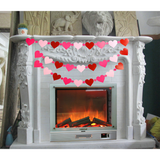Valentine's Day Love Hearts Banners - Happidtime