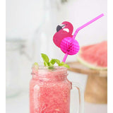 Flamingo Honeycomb Straws - Happidtime